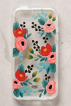 Lucere iPhone 5 Hülle mit Blumenmuster
