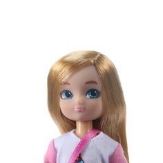 Lottie Doll by Birthday Girl 7 Inch Doll With Blond Hair And Blue Eyes Style: no fringe Happy Birthday Doll, Girl Birthday, Boy Doll, Girl Dolls, Doll Eyes, Doll Hair, Cute Dolls, Ball Jointed Dolls, Toys For Girls