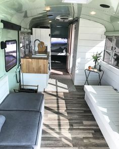 School bus conversion Skoolie Tiny home Tiny living #tinyhomeconversion
