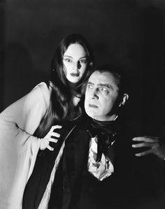Bela Lugosi and Carol Borland from Mark of the Vampire (1935)