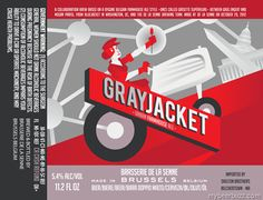 Brasserie De La Senne / BlueJacket - GrayJacket Urban Farmhouse Ale