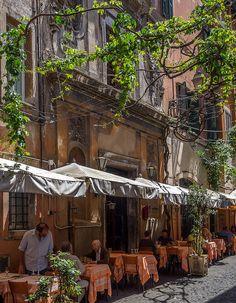 Ristorante La Canonica, Trastevere, Rome | Flickr - Photo Sharing!