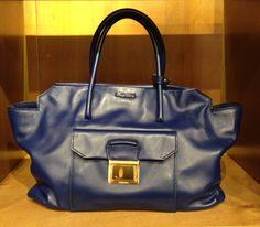 Leather bag by @MiuMiu #MiuMiu #leather #bag #SoftCalf #FolliFollie #FW14collection