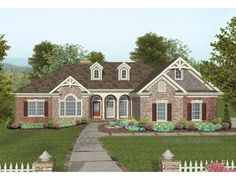 Eplans Craftsman House Plan - Four Bedroom Craftsman - 2000 Square Feet and 3 Bedrooms(s) from Eplans - House Plan Code HWEPL65013