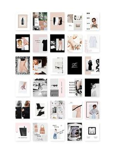 Instagram Social Pack - a creative resource intentionally designed for the blogger/influencer/freelancer/fashionista and all-around girlboss. Use these Instagram templates to add variety and style to your grid. This pack features a versatile range to give you flexibility and suit your different social needs. By Design Love Shop $20 #affiliatelink