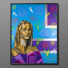 90×70cm Disney Characters, Fictional Characters, Disney Princess, Rose, Art, Kunst, Art Background, Pink, Performing Arts