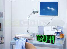 Chihai Digital LED Calendar Countdown Timer Alarm Clock with 9.6'' Display(blue Light) From Amazon http://www.amazon.com/gp/product/B00RCAT2B4