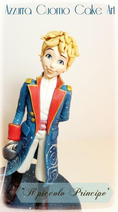"""""""The Little  Prince """"cake topper by Azzurra Cuomo Cake Art"""