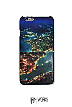 earth iPhone 6 case iPhone 6 Plus Case iPhone 5 by TRIMWORKSCASE