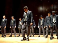 """The UC Men's Octet perform """"Bohemian Rhapsody"""" by Queen, at the Welcome Back to A Cappella Showcase at Hertz Hall, University of California, Berkeley on January 21, 2011.  Featuring Ryan Tabura."""