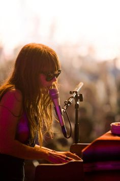 Great shot of Jenny Lewis at Austin City Limits.