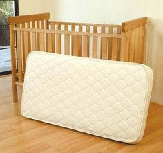 Ecobaby Organic Crib Mattress W/Natural Rubber Core