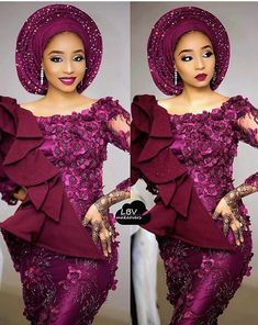 African women dress/ African lace dress for weddings/African peplum dress for engagements /Plus size african African Lace Styles, African Lace Dresses, African Dresses For Women, African Attire, African Fashion Dresses, African Wear, African Women, Nigerian Fashion, African Clothes