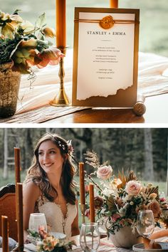 Earthy wedding decor with boho details and a warm color pallet. Check out how we created all the design elements for the perfect earthy wedding look. Wedding Looks, Fall Wedding, Wedding Vendors, Weddings, Earthy Style, Cottage Wedding, Reception Table, Stunning Dresses, Floral Designs