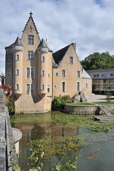 Château des Carmes à La Flèche, Pays de la Loire, France