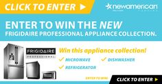 One lucky entry will have the chance to win a collection of Frigidaire Kitchen Appliances delivered to their home.