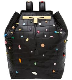 Damien Hirst / The Row - This alligator backpack will set you back at least $55,000, but at least the cops won't know about all the drugs inside the bag. super cawaii