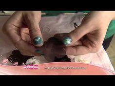 Aprenda customizar roupas com flores de tecido! - YouTube