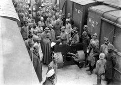 tropas mineiras desembarcam em Passa 4