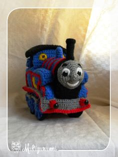 Tomas the Train  Thomas and Friends  MADE TO ORDER by Multigurumi