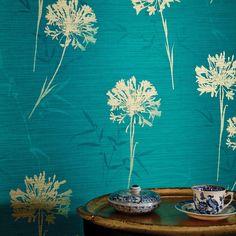 Arthouse Kimora Teal / Gold Wallpaper extra image