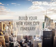 Set your dates, pace and interests, and our New York City Travel Guide recommend an itinerary of top attractions organized to reduce traveling around plus a map to help direct you.