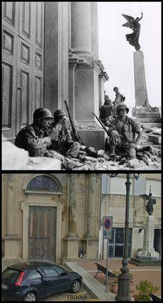 Truppe USA in Troina Sicilia   #Agosto1943