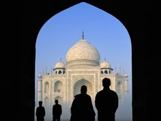 Taj Mahal...I've been here! Beautiful!