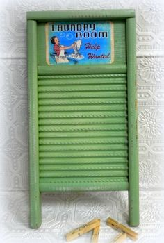 Upcycled Vintage Washboard  Farmhouse Country by LisasCraftiques, $24.95
