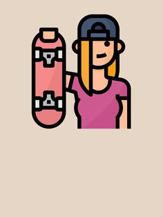 'Cute Skater Skateboarder Girl Hobby Avatar' T-Shirt by passionemporium – Famous Last Words Avatar Cartoon, Snowboard Girl, Skateboard Girl, Burton Snowboards, Famous Last Words, Sell Your Art, Tshirt Colors, Cute Boys, Classic T Shirts