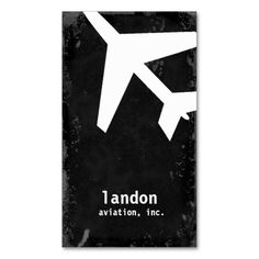 GC AVIATION TAKE OFF WHITE BUSINESS CARD
