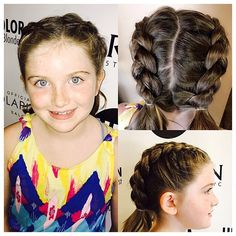 French braids by @victoriaubucolorsalon  This is the perfect hair style for almost anything you do this fall! If you Have an event coming up ☎️ Call the salon to book a free consultation she can do almost any type of braid and updo! 813.801.9700  #balayage #modernsalon #bestoftheday #blondegirl #beautylaunchpad #btcpics  #hairdye #hair #hairfeed #hairgasm #haircolor #hairoftheday #hairsalon #hairofinstagram  #haircare#pinteresthair  #ontrend #hairgoals  #americansalon #MarcJacobs #blonde…
