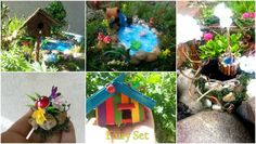 Hello everyone! :):):)     I create this set for you with a lot of love! This makes me happy! I love to create miracles!   If you start i fairy garden you may looking for some fairy accent to add to your little beauty! :)    I included in this set:   ~~~~pond (you can choose it from two option- choose the pond you like and wish)  ~~~~wishing well  ~~~~ fairy little bird house  ~~~~~sweet and colorfull pet house  ~~~~~ 3 fairy decorations with rocks, mushrooms and flowers    With this sweet…