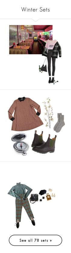 """""""Winter Sets"""" by melissaemily08 ❤ liked on Polyvore featuring Vetements, StyleNanda, Blundstone, Johnstons of Elgin, Pier 1 Imports, Chanel, Puma, Motel, TIBI and Boohoo"""