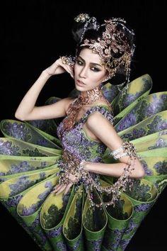"""Guo Pei"" by Debbie Kreigh > The ornate creations of Chinese fashion designer Guo Pei > View board here: http://www.pinterest.com/okiesweetie708/guo-pei/"