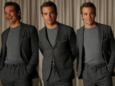 Chris Pine promoting A Wrinkle in