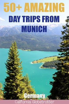 Ultimate List of Day Trips from Munich Europe Destinations, Europe Travel Guide, Holiday Destinations, European Vacation, European Travel, Weekend Trips, Day Trips, Cool Places To Visit, Places To Travel