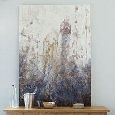 Lavender Smoke Abstract Print