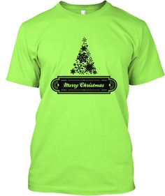 Merry Christmas! This festive snowflake and green shirt will make a great gift! http://teespring.com/CCB4