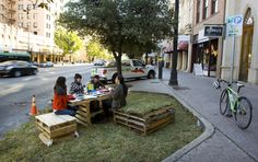 public spaces build community, grow community, and empowers community