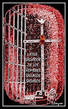 Cruz del Apostolado. Foto monocrómatica en color rojo es la réplica de la cruz del apostolado que NM Conchita plantó en el santuario de la Cruz del Apostolado. Autora: Leczra