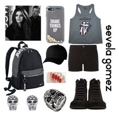 """""""jeez Tyler! keep your hands to yourself! ;)"""" by sequiagomez ❤ liked on Polyvore featuring Dorothy Perkins, Ann Demeulemeester, Thomas Sabo, West Coast Jewelry, NIKE, Kate Spade and Flexfit"""