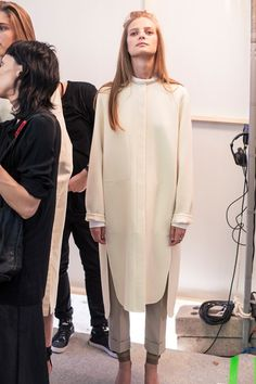 Hermès SS15, womenswear, Dazed backstage