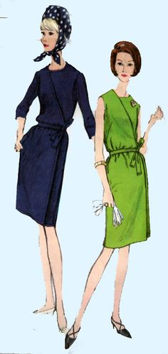 Vintage 60s Sewing Pattern Vogue 6664 MOD Misses' by sandritocat, $25.00