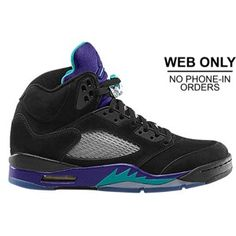online store 6e712 c883f Pre Order 136027 007 Air Jordan 5 Retro Grapes Black New Emerald Grape Ice  Black ( Men Women GS Girls), cheap Jordan If you want to look Pre Order  136027 ...