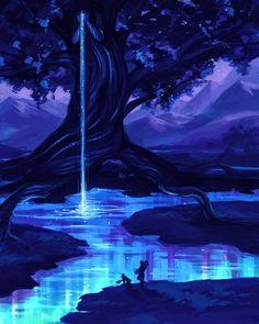Lago de la vida.