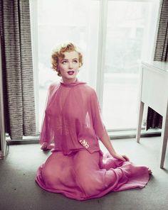 Inspiration for the Burlexe burlesque range of lingerie at http://burlexeboutique.com/  Original: Marilyn, 1950s.