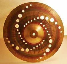 Cymbal Crack Repair Service & Hi-Hat Matching. Attach cymbal in vertical circumference lathe. CYMBAL Repair Re-SIZING Service / subsidiary of ZIMBAYLACymbal Co. How To Play Drums, Gold Wallpaper, Drum Kits, Percussion, Musical Instruments, Zen, Polish, Drummers, Dark Art