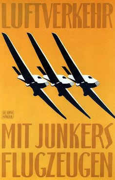 Junkers aircraft. 1919