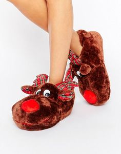 Loungeable Ruldolf Christmas Slipper